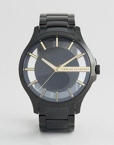 Черные часы из нержавеющей стали Armani Exchange AX2192 - Черный