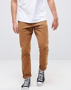 Классические джинсы табачного цвета Jack and Jones - Синий