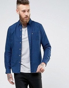 Рубашка с карманом Levis Sunset Mentha Indigo - Темно-синий Levis®