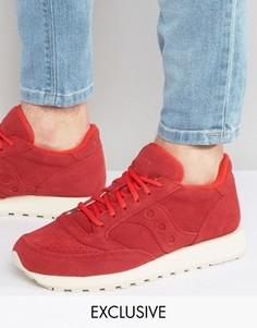 Красные кроссовки Saucony Jazz S70246-1 эксклюзивно для ASOS - Красный