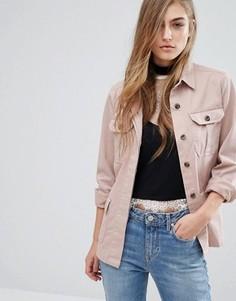 Куртка-рубашка Miss Selfridge - Розовый