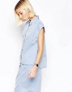 Рубашка с короткими рукавами Gestuz Little - Синий