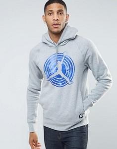 Серое худи Nike Jordan AJ11 823714-063 - Серый