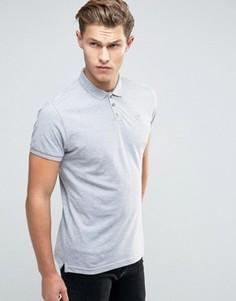 Классическая футболка-поло из ткани пике Bellfield - Серый