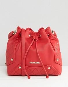 Сумка на плечо Love Moschino - Красный
