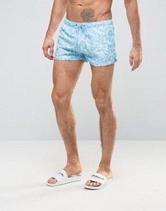 Шорты для плавания Boardies Shortie - Синий