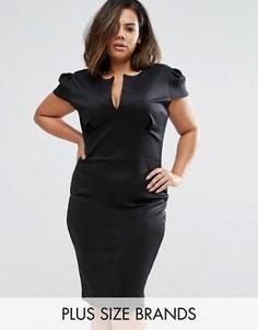 Платье Club L Plus - Черный