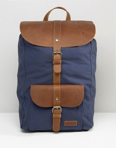 Темно-синий кожаный рюкзак Forbes & Lewis Lincoln - Темно-синий