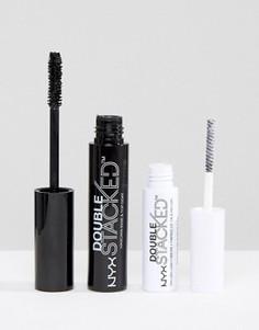 Тушь для ресниц NYX Professional Make-Up Double Stacked - Черный