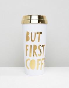 Термокружка Ban.Do But First Coffee - Мульти