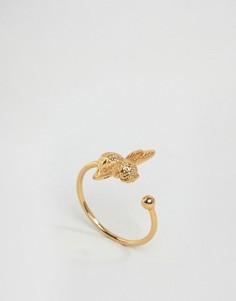 Золотистое кольцо с пчелой Olivia Burton - Золотой
