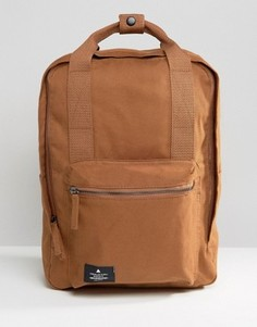 Парусиновый рюкзак с ручкой ASOS - Коричневый