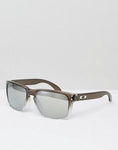 Квадратные солнцезащитные очки с поляризованными стеклами Oakley - Черный