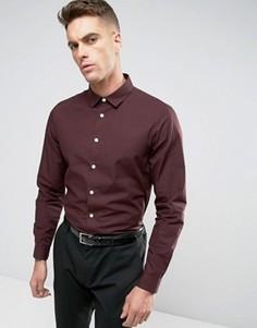 Рубашка классического кроя ASOS - Красный