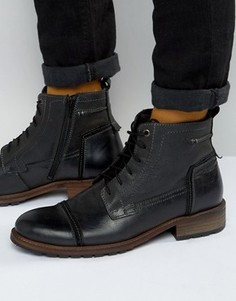 Ботинки со шнуровкой Rule London - Черный