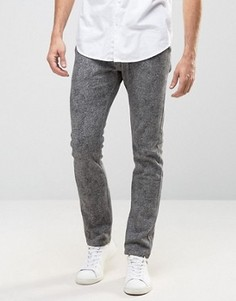 Узкие трикотажные брюки Only & Sons - Серый