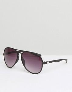 Солнцезащитные очки-авиаторы Jeepers Peepers - Черный