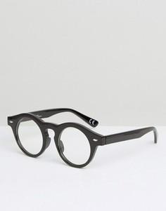 Круглые очки Jeepers Peepers - Коричневый