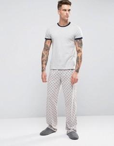 Подарочный пижамный комплект Original Penguin - Серый