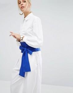 Рубашка с пышным рукавом на манжете Sportmax Code - Белый