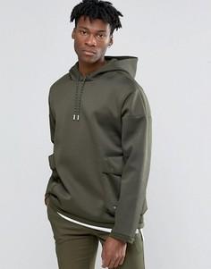 Зеленый худи adidas Originals Badlander AY8524 - Зеленый