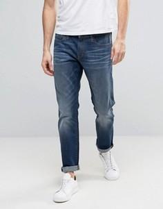 Синие джинсы слим Esprit - Синий
