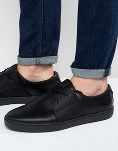 Кеды на шнуровке ALDO Delsanto - Черный