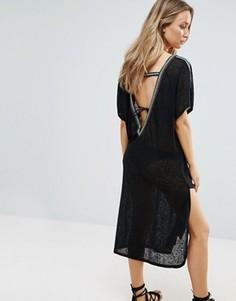 Пляжное платье Pitusa - Черный