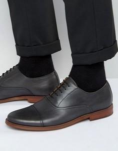 Кожаные оксфордские туфли ALDO Thobe - Черный