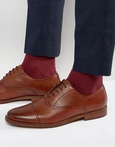 Кожаные оксфордские туфли ALDO Thobe - Коричневый