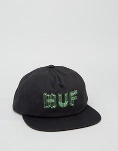 Бейсболка HUF - Черный