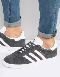 Серые кроссовки adidas Originals Gazelle BB5480 - Серый
