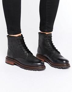 Ботинки на шнуровке H By Hudson Lingshaw - Черный
