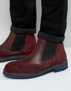 Ботинки челси Rule London - Красный