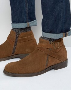 Ботинки с пряжкой Rule London - Рыжий