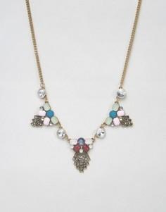 Броское ожерелье DesignB - Золотой