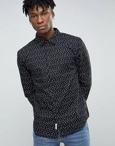 Рубашка с принтом Bellfield - Черный