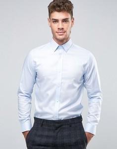 Узкая рубашка из 100% хлопка Jack & Jones Premium - Синий