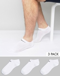 Комплект из 3 пар спортивных носков Nike SX2554-101 - Белый