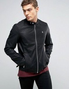 Куртка из искусственной кожи G-Star Avier - Черный