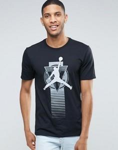 Черная футболка Nike Jordan Elevate 801600-011 - Черный