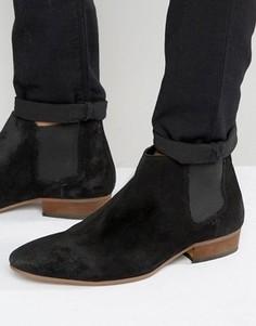 Черные замшевые ботинки челси Kg By Kurt Geiger - Черный