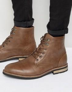 Ботинки с подкладкой из искусственного меха D-Struct - Рыжий