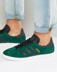 Зеленые кроссовки adidas Originals Gazelle BB5487 - Зеленый