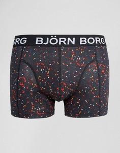 Боксеры-брифы в крапинку Bjorn Borg - Черный