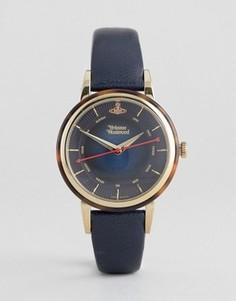 Часы с кожаным ремешком Vivienne Westwood Portobello VV158BLBL - Синий