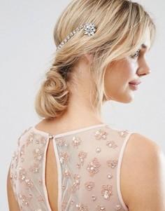 Заколка для волос с отделкой ASOS - Серебряный