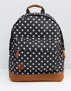 Рюкзак с принтом звезд Mi Pac - Черный