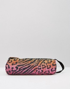 Пенал с леопардовым принтом Mi Pac - Розовый