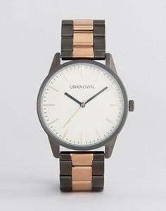 Классические наручные часы с браслетом цвета розового золота UNKNOWN - Золотой